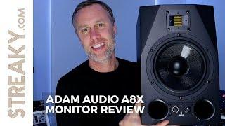 ADAM AUDIO A8X MONITOR REVIEW | Streaky.com
