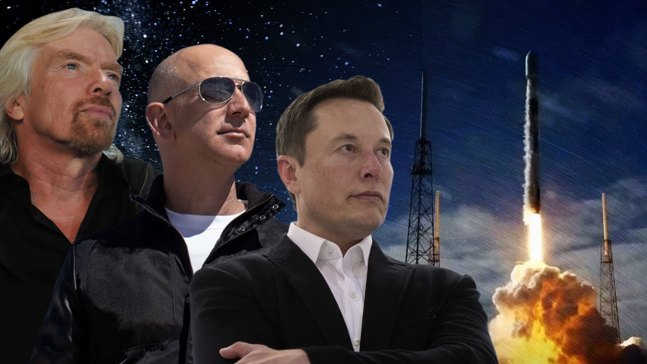 Billionaires in Space: How Musk, Bezos, and Branson Could Save Humanity -  YouTube