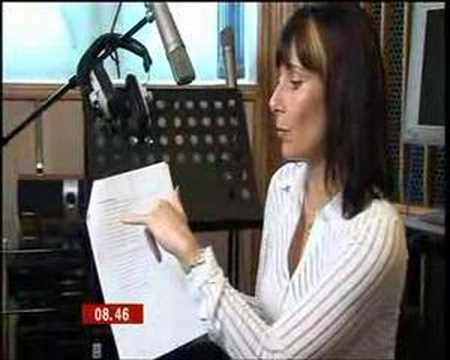 Sara records new voice of BT Speaking Clock (BBC Breakfast)