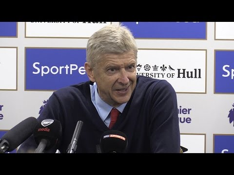 Hull City 1-4 Arsenal - Arsene Wenger Full Post Match Press Conference