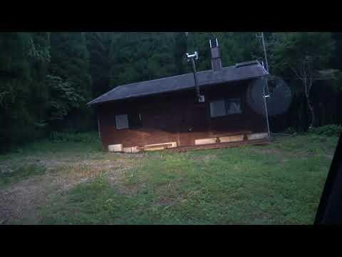 森の中の一軒家に泊まってみた