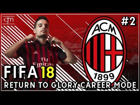 FIFA 18 AC Milan Career Mode: El Shaarawy Kembali, Mantan Bek Barcelona Bergabung Secara Gratis #2