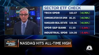 Tech stocks drive Nasdaq to all-time high at market open