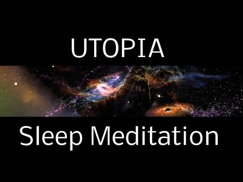 Hypnosis UTOPIA SLEEP MEDITATION: A Spoken Guided Meditation into Interstellar Worlds | deep sleep