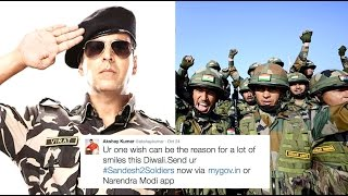 Watch Akshay Kumar's Video On Twitter To Our Soldiers