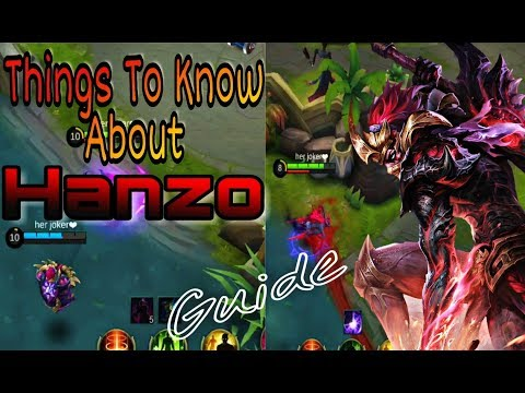 download Hanzo Guide| Build, Equipment, Spells. And many more Simple Language Explanation| Mobile Legends |