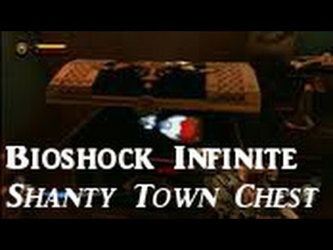 Bioshock Infinite: Optional Quest - Opening the Box/Chest in Shantytown
