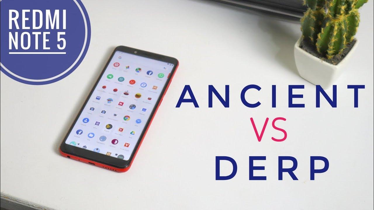 Ngadu Performa Custom Kernel Buat Redmi Note 5 | Ancient Kernel vs Derp  Kernel