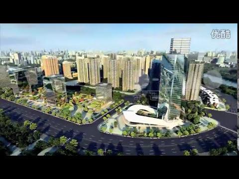 Nansha Guangzhou China Mingzhuwan CBD Area | 中国广州南沙明珠湾起步区CBD
