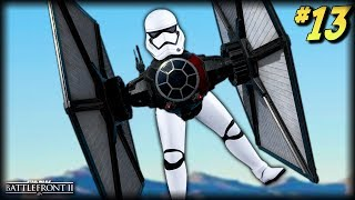 Star Wars Battlefront 2 - Funny Moments #13 (Stormtrooper Tie Fighter?!)