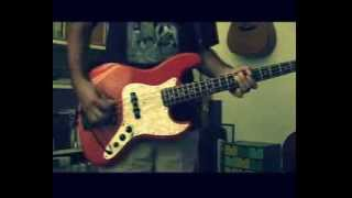 Gouge away - The Pixies bass cover