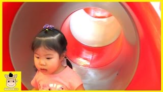 Indoor Playground Compilation  for Kids and Fun Play Kids Cafe | MariAndKids Toys