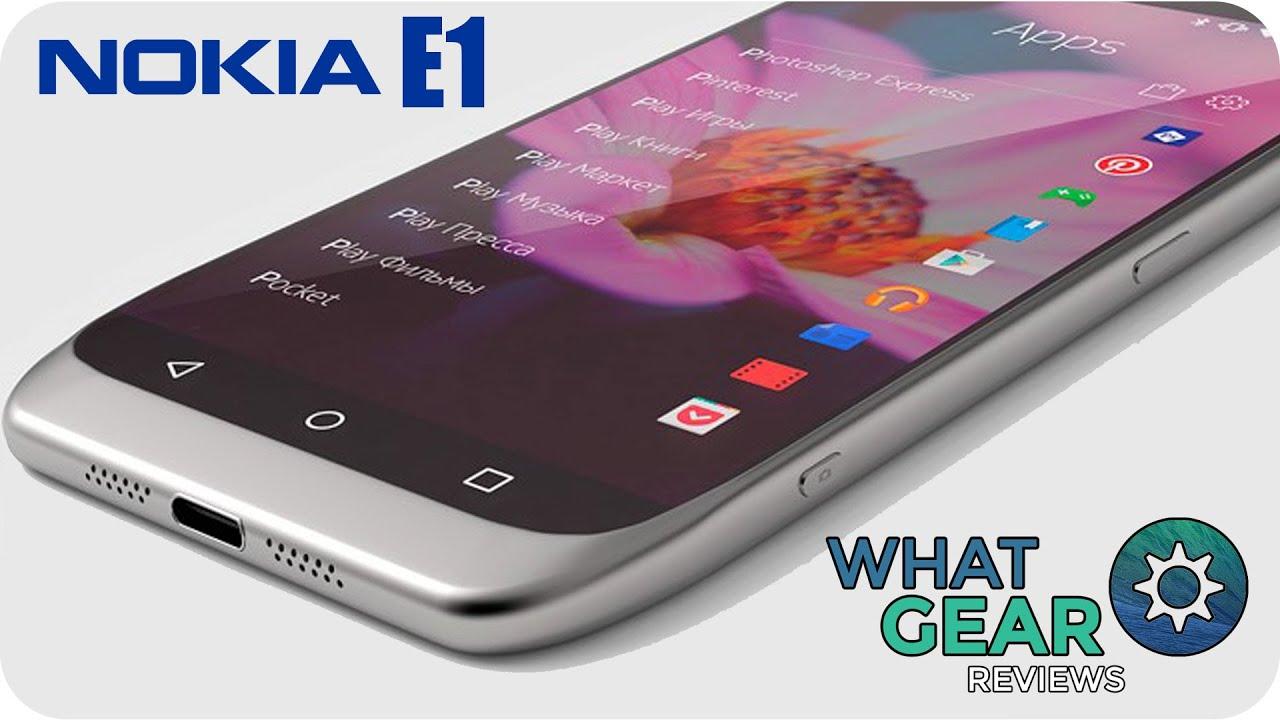 Nokia E1 - Smartphone Leaks & Rumours - YouTube