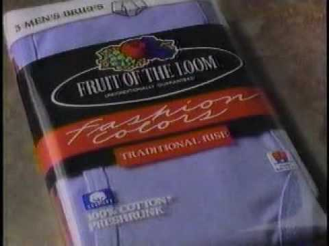 Fruit Of The Loom Whose Underwear Is Under There Ad From