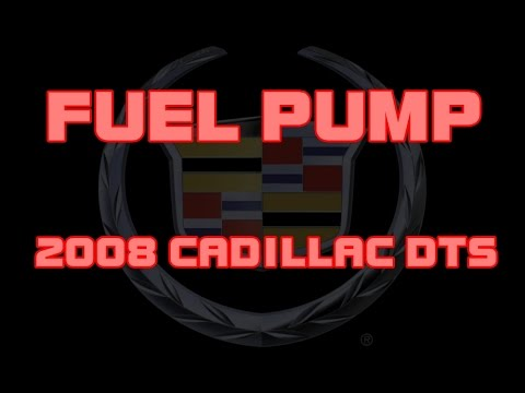 2008 cadillac dts how to replace the fuel pump youtube rh youtube com 2008 cadillac dts rear fuse block