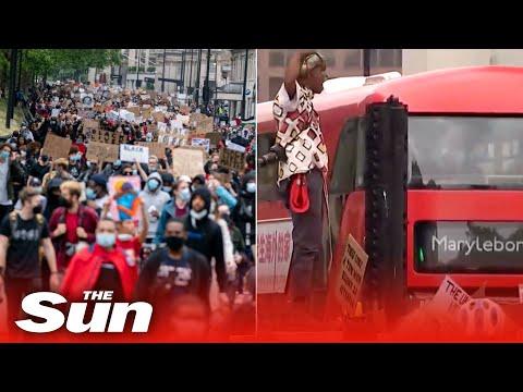 Live: London Black Lives Matter protest calling for justice for George Floyd in Hyde Park