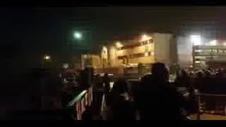 Evacuation /Installation de barrières /Police Reveillon Champigny sur Marne 2017