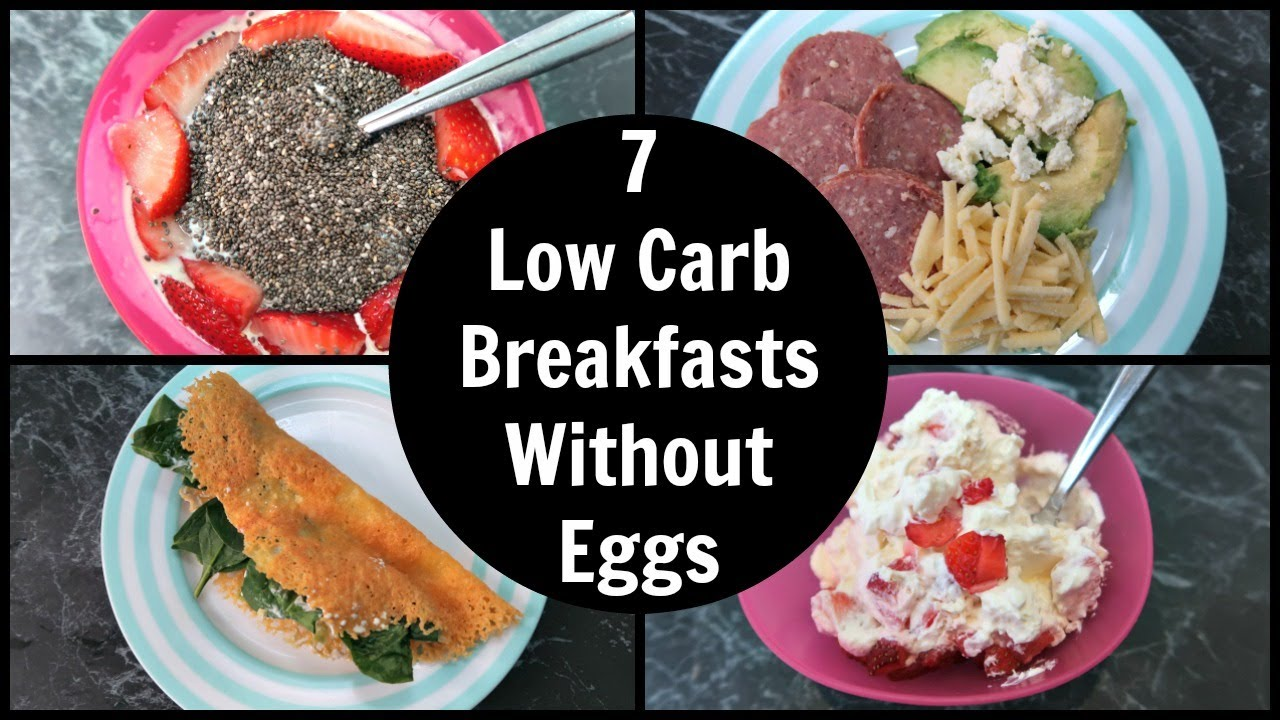 7 low carb breakfast without eggs ideas - easy keto breakfasts with