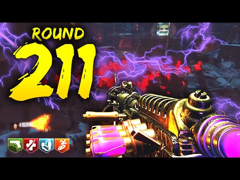 """The Giant"" ROUND 211 - INSTANT KILL Best Strategy! Black Ops 3 Zombies WORLD RECORD Gameplay!"