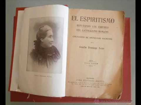 ESPAÑOL BIOGRAFIA DE AMALIA DOMINGO SOLER  parte 1