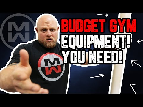 Best Gym Equipment For Small Budget (Minimal $$$ = Max Fitness Equipment!)