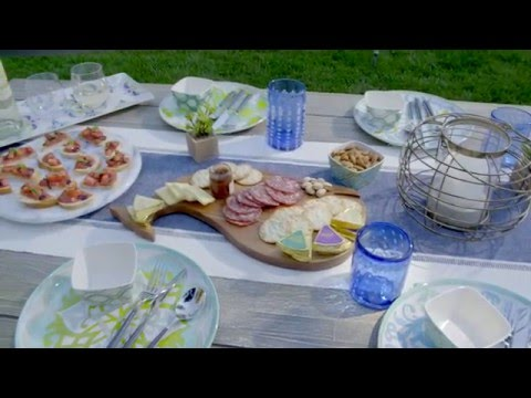 3 Stylish Theme Parties for Summer with Brandi Milloy - YouTube