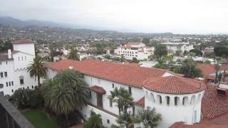 View from the Court House Roof---Annual Santa Barbara Bicycle Tour---Video #7