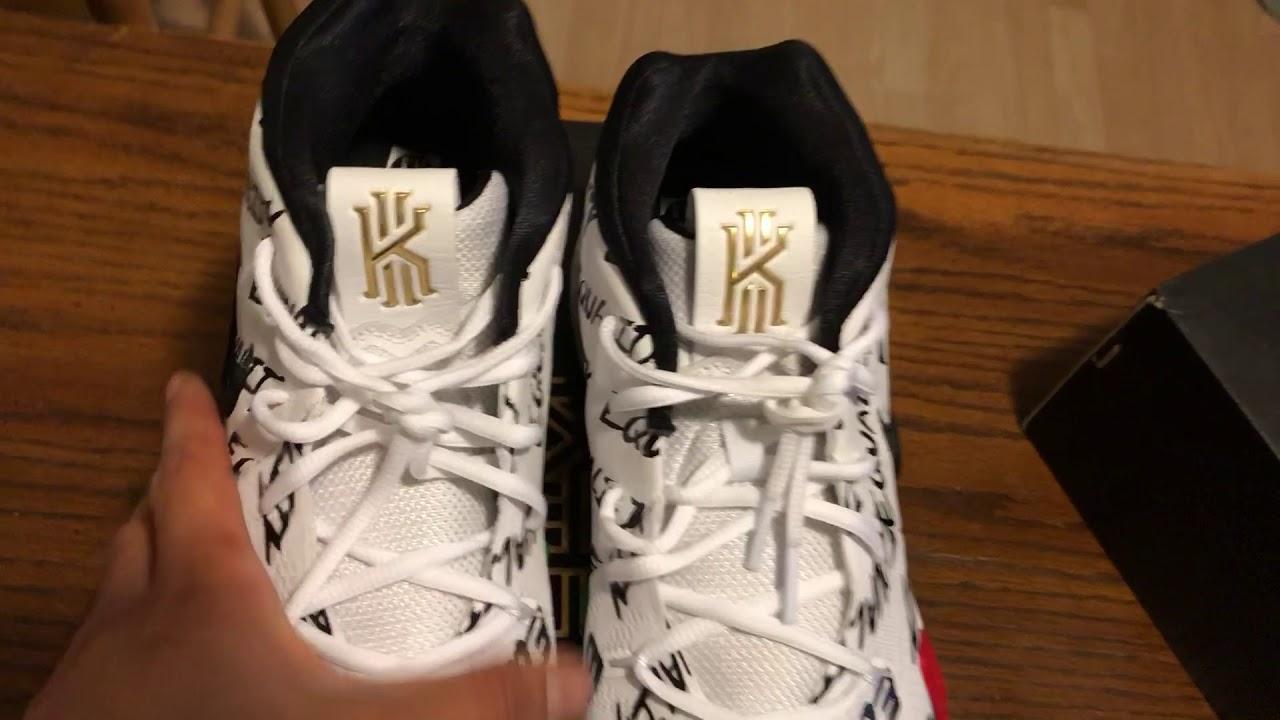 93f6717de087 Nike Kyrie 4 BHM Review! 2018! - YouTube