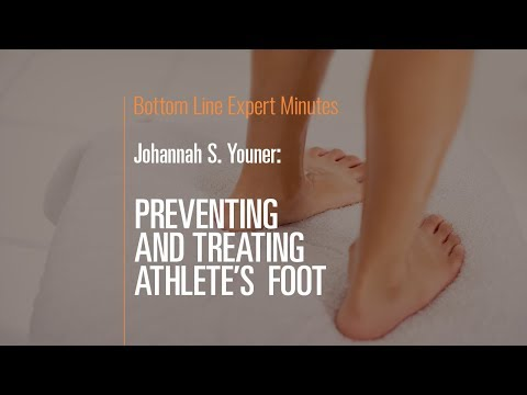 Preventing and Treating Athlete's Foot