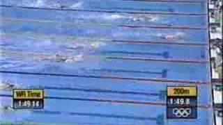 Sydney Olympics 2000 400m free heat