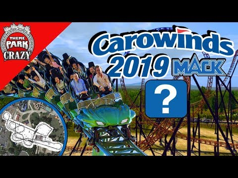 Carowinds' NEW 2019 Coaster may be a Mack Multi-Launch