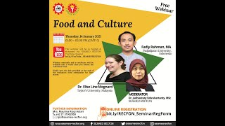 Webinar on Food and Culture (RECORDED on January 14th 2021)
