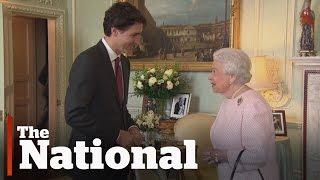 Justin Trudeau meets the Queen