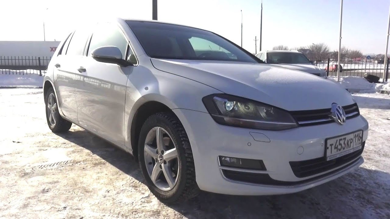 2013 Volkswagen Golf 1.4 TSI DSG Highline. Start Up, Engine, and In Depth Tour.