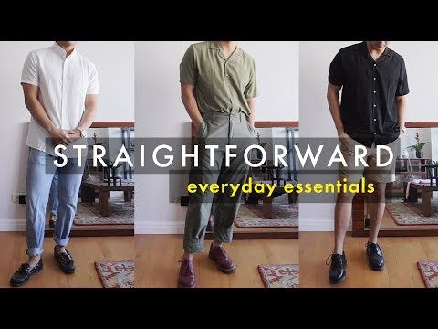 Straightforward - Everyday Essentials (Made in the Philippines)