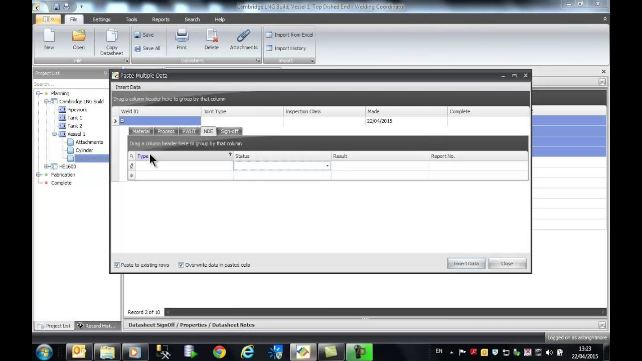 Welding Coordinator - Fabrication management and