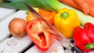 Basic knife skills t๐ master | Basic vegetable cutting Techniques | How to cut vegetables