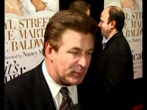Alec Baldwin and Steve Martin red carpet interview