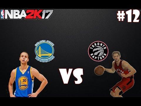 "NBA 2K17   ""ME TOCA MARCAR A MI ÍDOLO"" FECHA FRENTE A GOLDEN STATE Y CLEVELAND !!   #12 Gameplay 2.0"