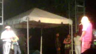Downsound performing at Galdez bday bash with the alliance feat. bounty killer, mavado and more