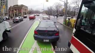 Bike Lanes Toronto by City Cyclist