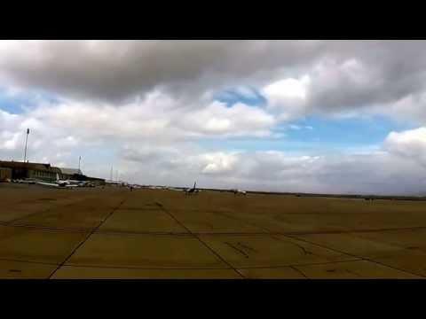 B-29 Fifi Landing at Williams Gateway Airport - 2/28/15