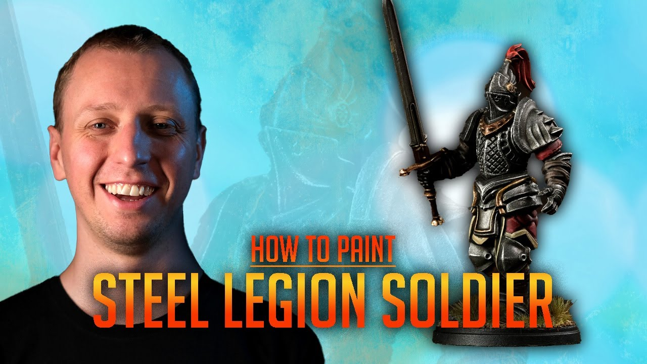 How to paint a Steel Legion Soldier (Conquest: The Last Argument of Kings)