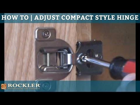 Cabinet and Hinge Adjustments - Woodharbor Custom Cabinets