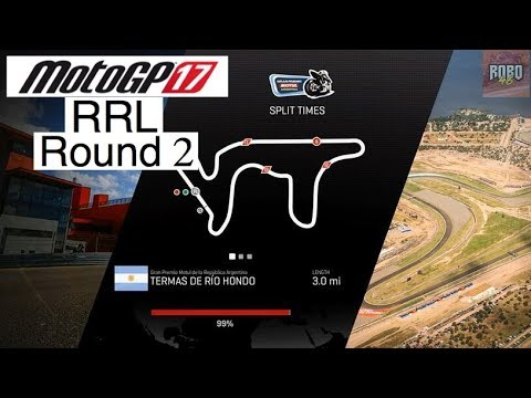 MotoGP 17 | League Racing (RRL) Round 2: Argentina