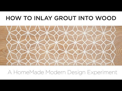 How to Inlay Grout into Wood | HMM Design Experiments