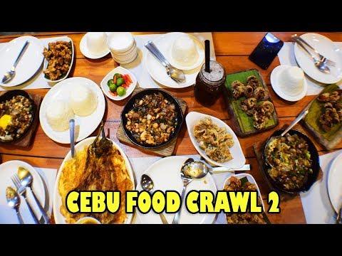 CEBU FOOD CRAWL PART 2 - #EATgetaway in Cebu Episode 5