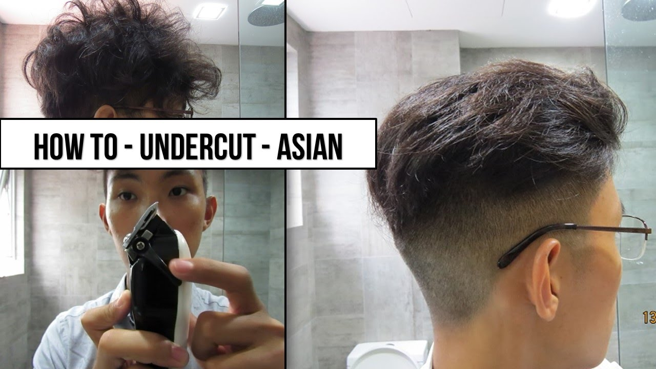 Back How To Undercut Asian Hair Skin Fade Part 2 Youtube