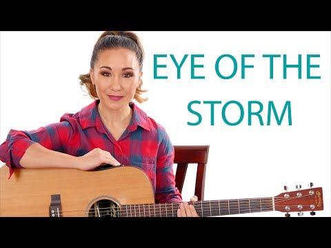 Eye of the Storm - Ryan Stevenson Guitar Tutorial with Play Along