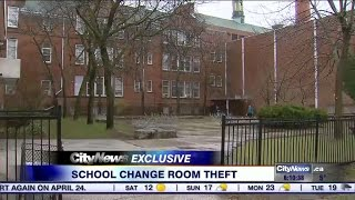 Video: Teens concerned they were spied on after locker room theft